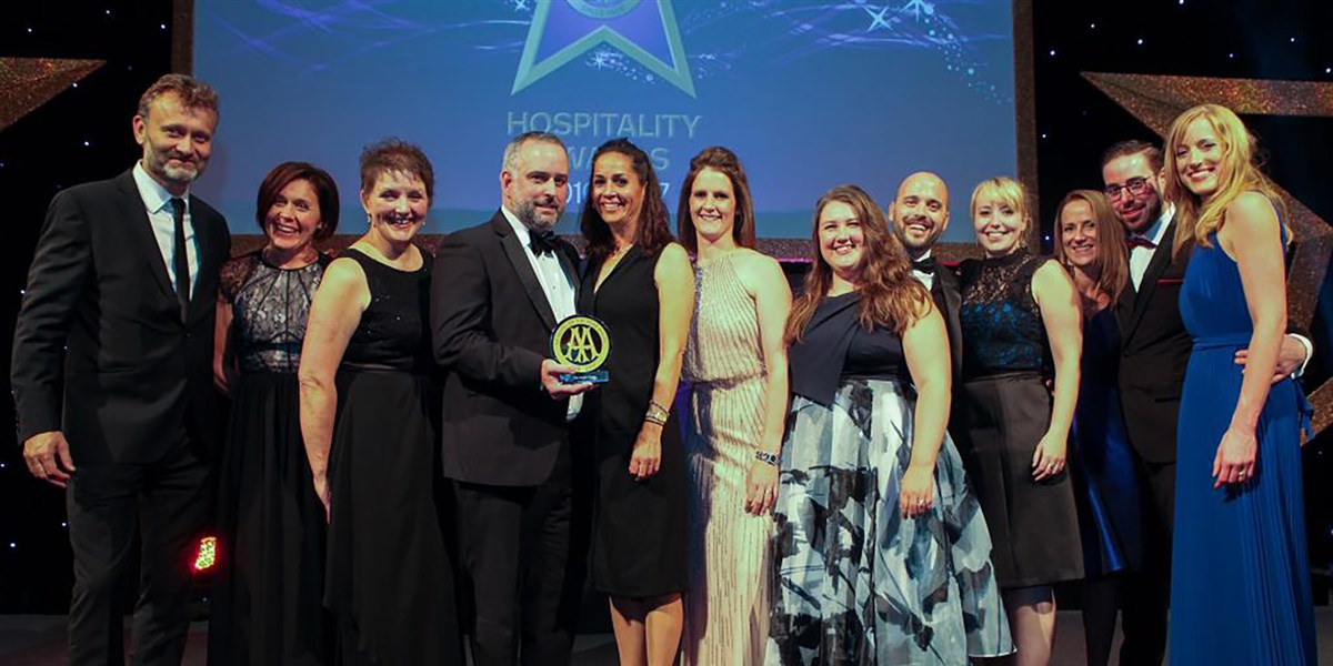 OFF big AA Hotel of the Year Wales 2016