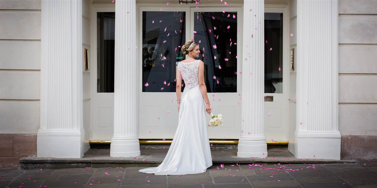 Wedding Venues Abergavenny at The Angel Hotel in South Wales