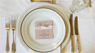 Events Gold Cutlery