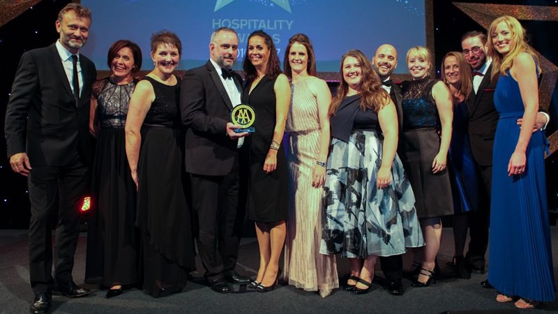 AA Hotel of the Year Wales 2016-2017