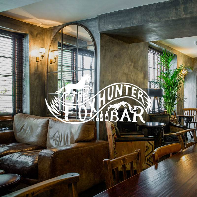 Foxhunter bar in Abergavenny South Wales